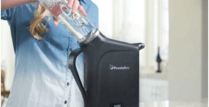 refrigerador de bebidas está en Indiegogo