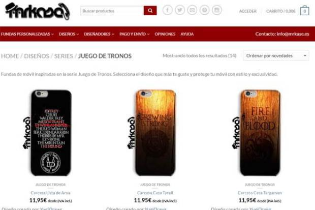 Fundas Iphone  Juego De Tronos