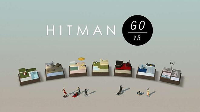 Hitman Go VR es un juego de estrategia basado en turnos con hermosas piezas de estilo diorama