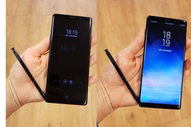 Toma de contacto con el Galaxy Note 8