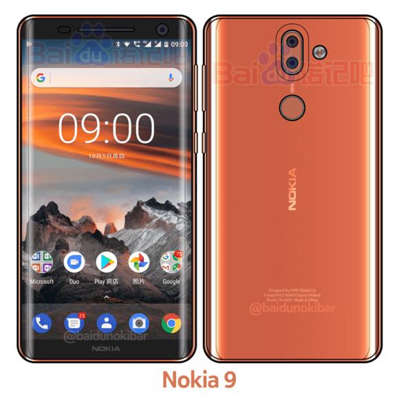 La pantalla del Nokia 9 será más grande lo esperado