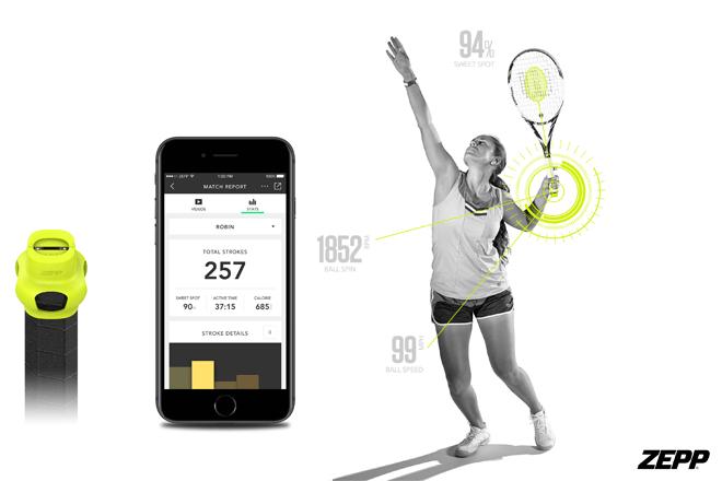Zepp lanza la última versión del sensor de tenis que mejora tu rendimiento
