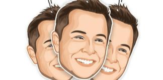 Ambientador para coches con olor a Elon Musk para carros Tesla