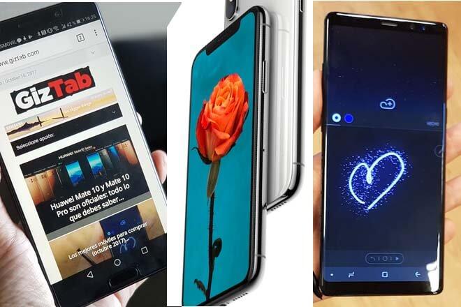 Huawei Mate 10 Vs Samsung Galaxy Note 8 Vs iPhone X