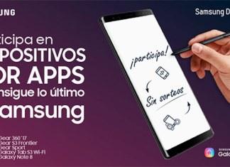 """La nueva edición """"Dispositivos por apps"""" premiará a los desarrolladores con dispositivos Samsung entre los que destacan Galaxy Note8 y Gear Sport"""