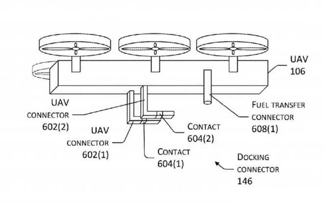 Patente dron para recargar coches eléctricos