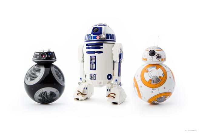 Robots de Star Wars de Sphero: Idea de regalo para Navidad