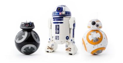 Robots de Star Wars de Sphero