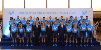 Telefónica incorporará Big Data e IoT en el Movistar Team 2018