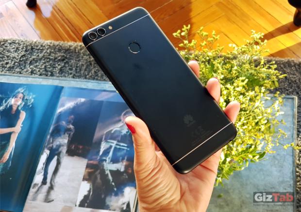Cara posterior del Huawei P smart