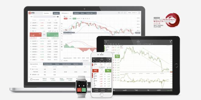 XTB plataforma para comprar criptomonedas
