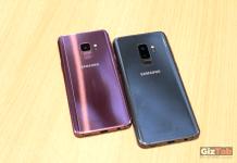 Samsung Galaxy S9 y S9 Plus cara posterior