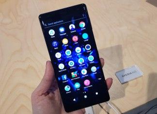 Sony Xperia XZ2 está entre las novedades del MWC 2018