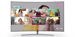 app disney channel en smart tv samsung