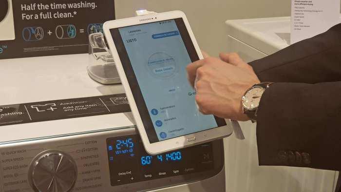 Samsung apuesta por la Inteligencia Artificial para hacer más listos sus electrodomésticos