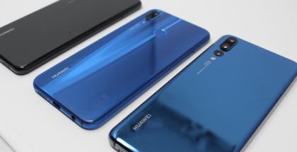 Huawei P20, P20 Lite y P20 Pro cara posterior
