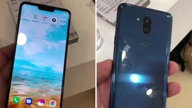LG G7 filtrado pantalla