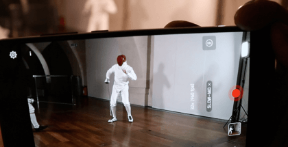 Slow Motion de la cámara del Huawei P20 Pro