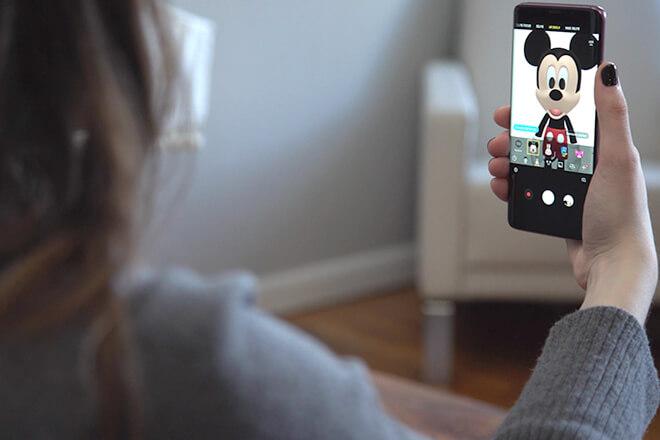 Minnie y Mickey Mouse llegan en forma de AR Emoji al Samsung Galaxy S9 y S9 Plus