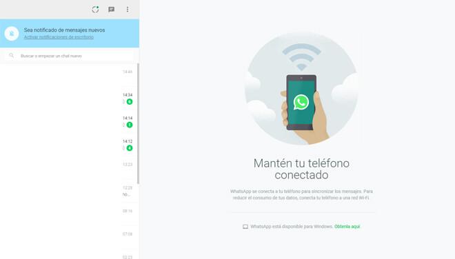 WhatsApp en el ordenador paso 4
