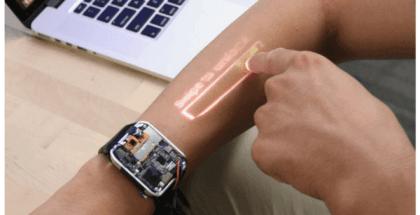 Convierte tu brazo en una pantalla táctil con LumiWatch