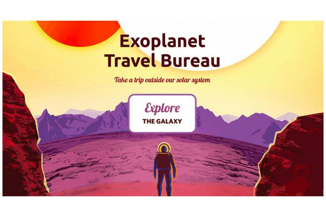 Exoplanet Travel Bureau: La forma de viajar virtualmente a otros planetas