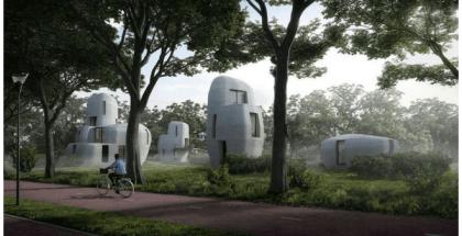 Holanda tendrá casas impresas en 3D en 2019
