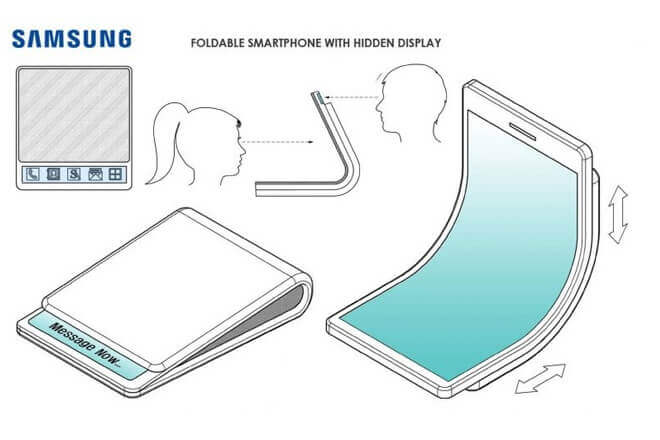 Foto de Galaxy X, el móvil plegable de Samsung