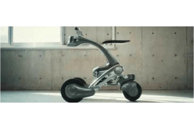 Foto de robot de tres ruedas CanguRo