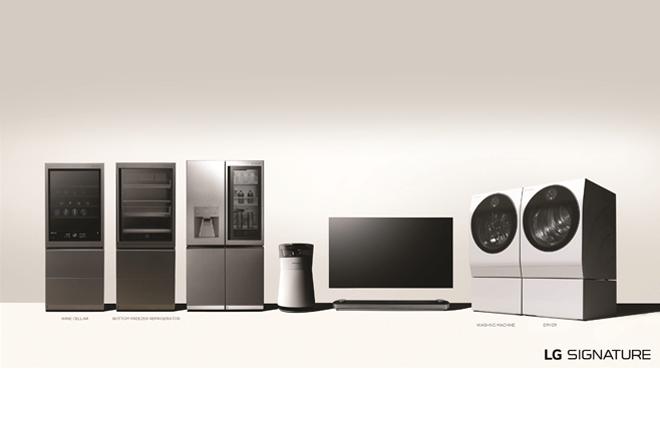 LG amplía su gama LG SIGNATURE con nuevos electrodomésticos