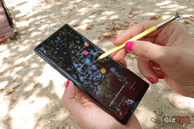 Todas las funciones y ajustes del nuevo S Pen del Note 9, son personalizables