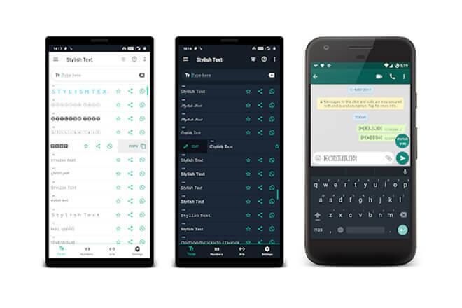 Foto de cambiar los tipos de letra en Whatsapp