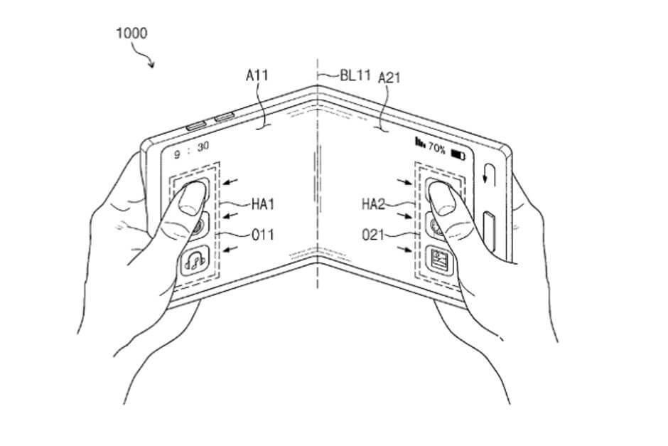 El lanzamiento del móvil plegable de Samsung sería en noviembre de 2018