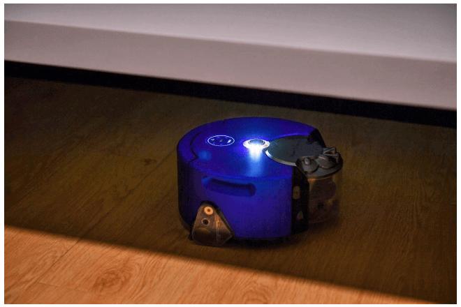 imagen del robot aspiradora de Dyson, 360 Heurist