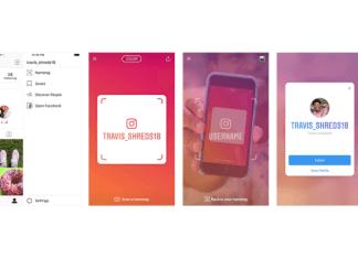 nametag o código QR de Instagram