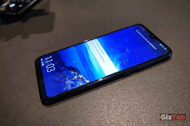 El área de visualización del Huawei P smart 2019 es más amplia, gracias a su pantalla Huawei Dewdrop Display de 6.21 pulgadas