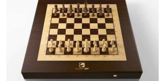 foro de tablero de ajedrez robótico