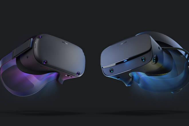 Oculus Rift S, visor VR