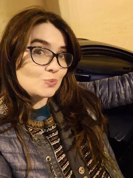 Foto selfie de noche con el S10+