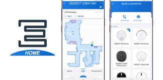 La nueva aplicación ECOVACS Home incluye una interfaz adaptada a todas las necesidades