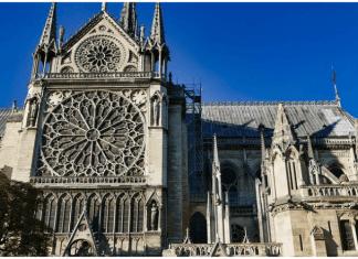 imagen fachada catedral Notre Dame