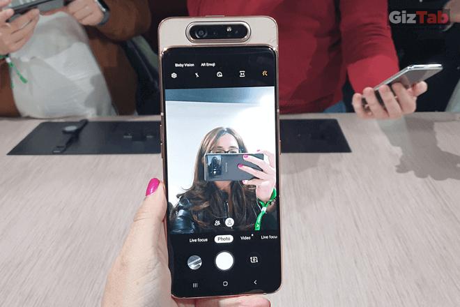 Galaxy A80, el primer móvil con cámara rotatoria