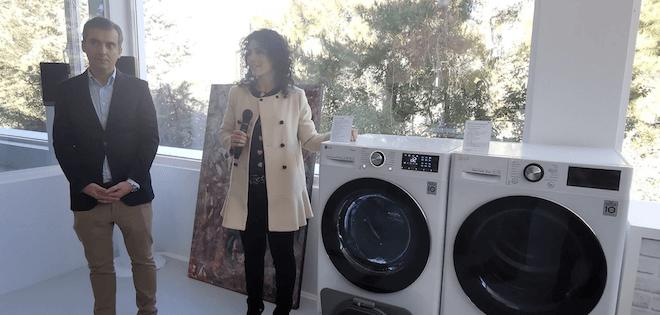 Las lavadoras con mayor capacidad y ahorro energético son parte de la propuesta de LG