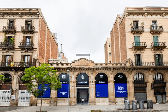 Metronom de Barcelona se convertirá desde hoy y hasta el próximo 19 de mayo en un espacio inspiracional con los últimos dispositivos de Samsung