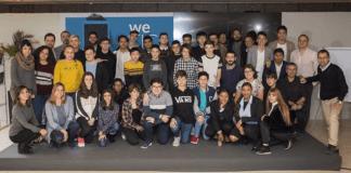 Ganadores de los premios We TIC, otorgados por Samsung y la Comunidad de Madrid