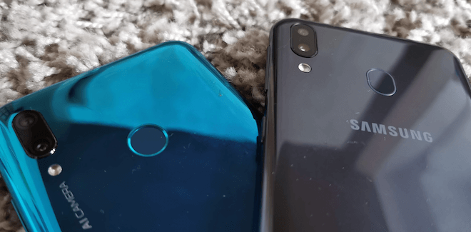Huawei P Smart 2019 vs Samsung Galaxy M20 comparativa y diferencias