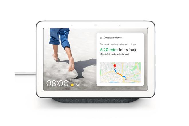 Google Nest Hub llega para ofrecer ayuda en cualquier situación y de un vistazo, solo usando la voz.