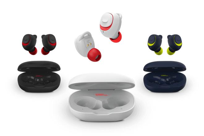 SPC Ebon Go incorporan diferentes tamaños de almohadillas y adaptadores de sujeción intercambiables