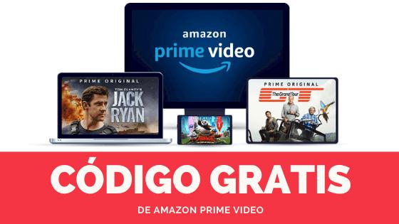 codigo gratis amazon video