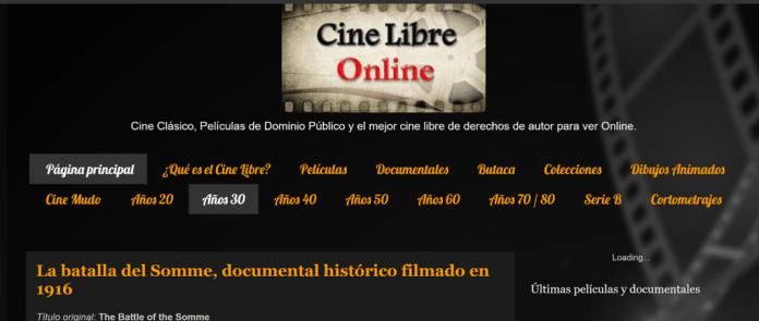 En Cine Libre Online las peliculas son libres de derechos